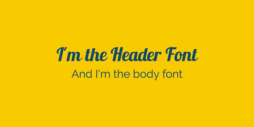 не прекалявайте с разнообразието от шрифтове